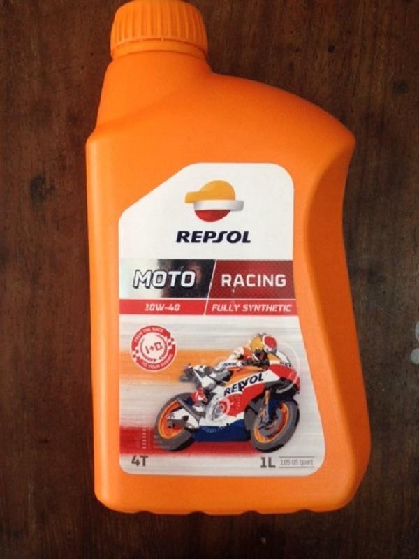 Nhớt Repsol Moto Racing 10w-40 1L Nhật Bản
