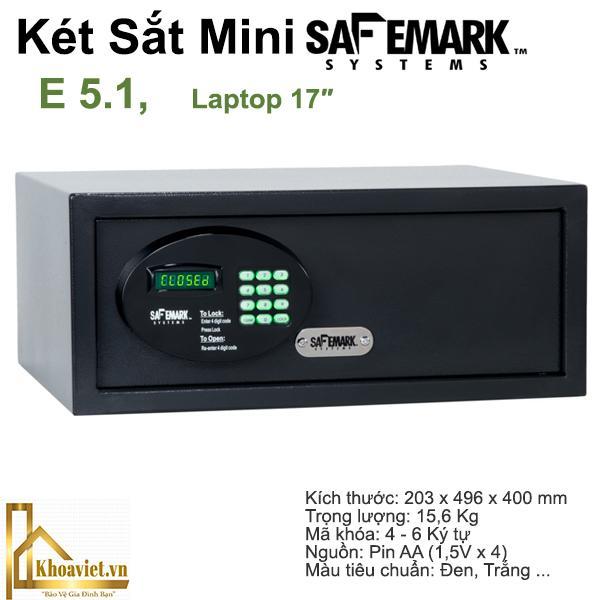 Ẹ5.1 Két Sắt Khách Sạn SafeMark(USA)