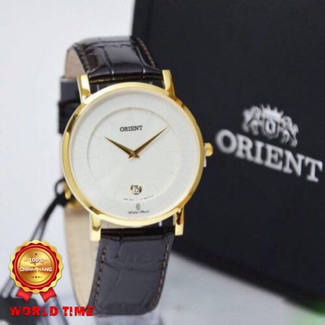 Nơi bán Đồng hồ CHÍNH HÃNG ORIENT FGW01008W0 QUARTZ – NAM – DÂY DA