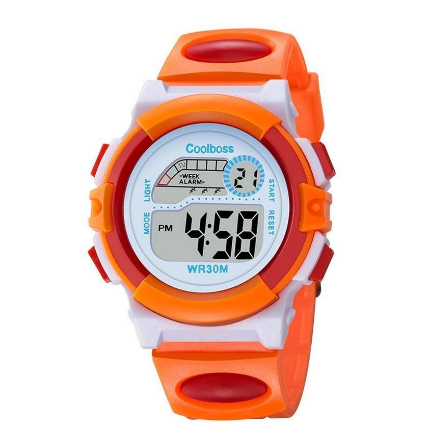 Nơi bán Đồng hồ trẻ em  W05-VC màu cam đỏ giá tốt