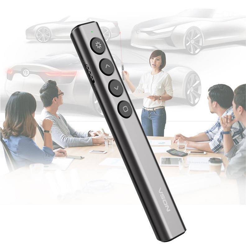 Bút Laser Trình Chiếu Slide Vson - Bút Trình Chiếu Powerpoint By Titeck Store.