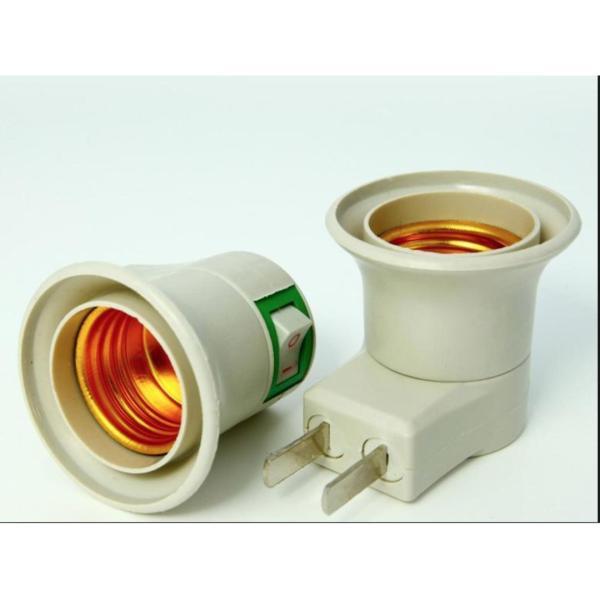 Bộ 2 Chuôi đèn có công tắc tắt mở 220V