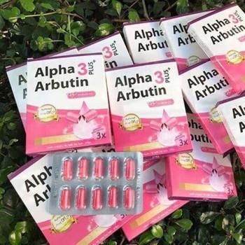 Viên Kích Trắng Alpha Arbutin - Thái Lan