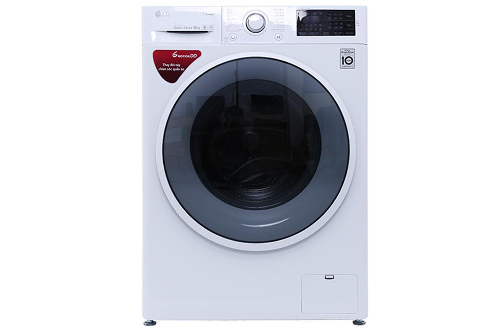 Hình ảnh Máy giặt LG FC1408S4W2 8kg lồng ng inverter