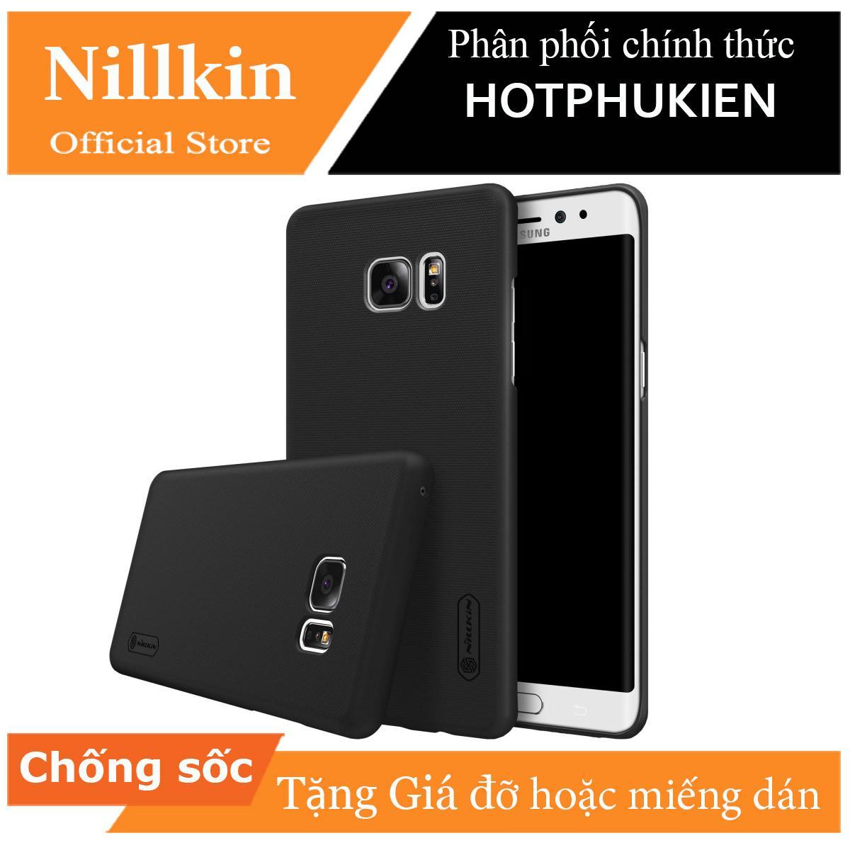 Giá Ốp lưng sần Samsung Galaxy Note FE hiệu Nillkin (Tặng kèm 1 giá đỡ hoặc miếng dán từ tính) - Phân phối HotPhuKien