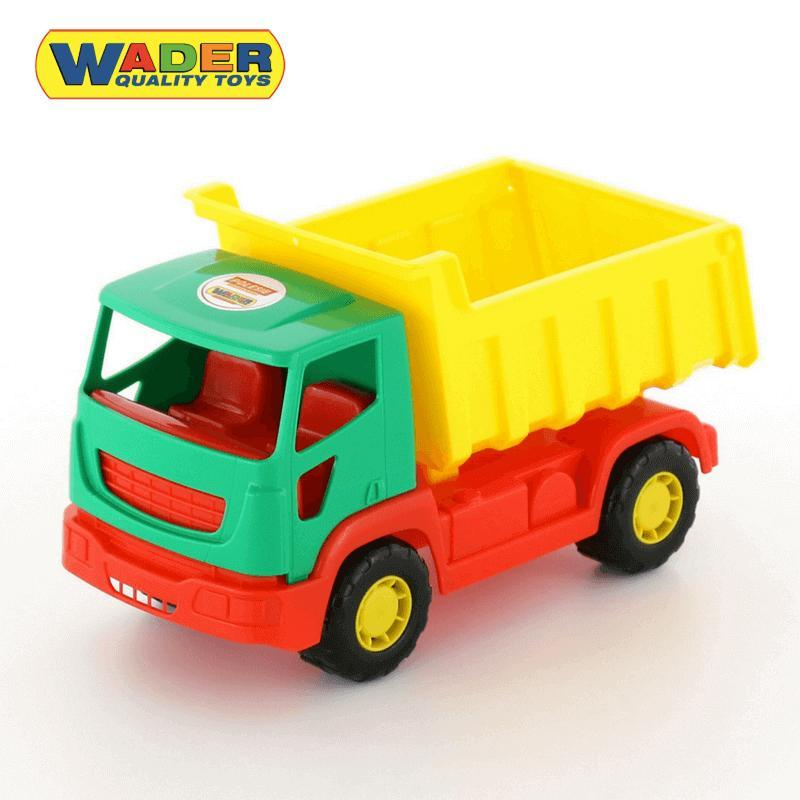 Xe tải đồ chơi Tipper – Wader Toys Màu xanh lá cây