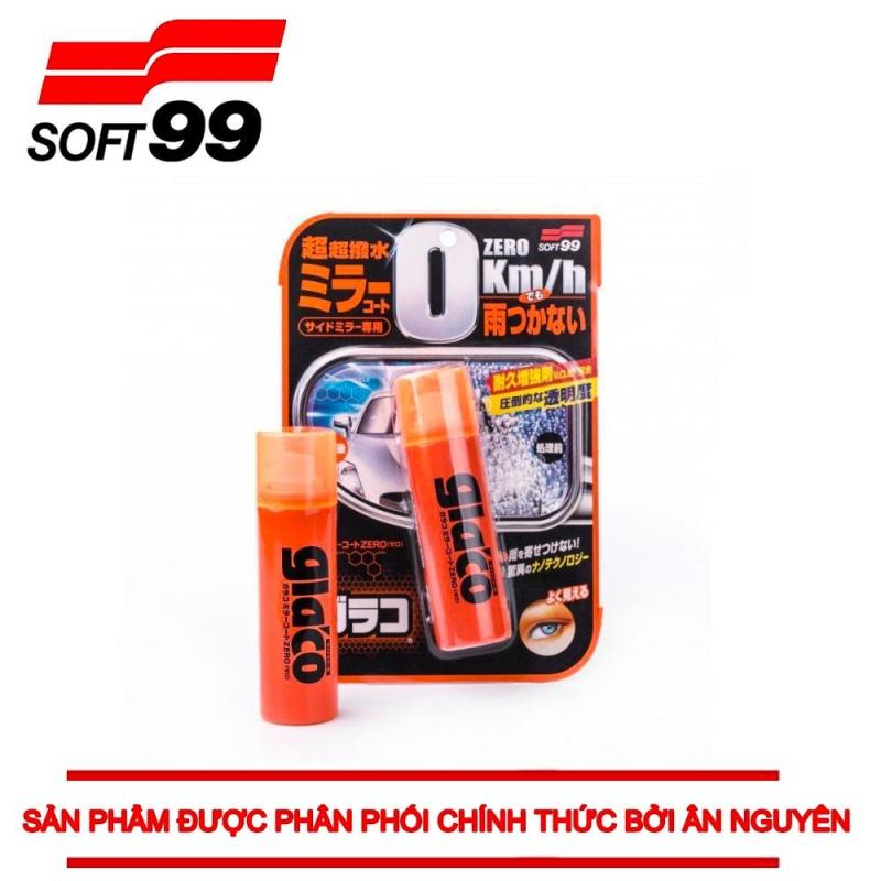 PHỦ NANO GƯƠNG CHIẾU HẬU Ô TÔ GLACO MIRROR COAT ZERO G-65 SOFT99  JAPAN