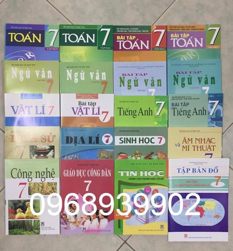 Mua Trọn bộ sách giáo khoa và sách bài tập lớp 7 (20Q)- new 2018