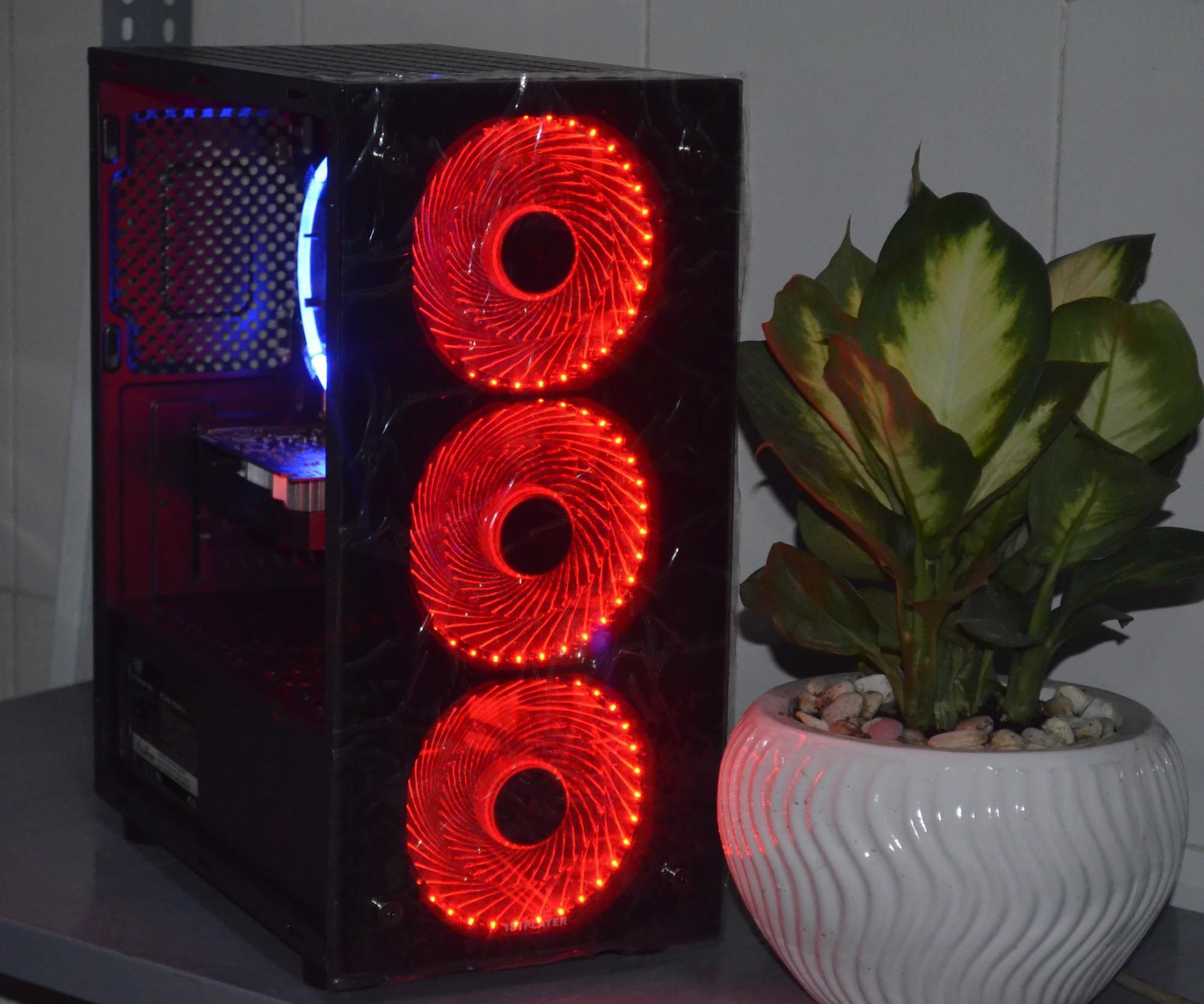 Hình ảnh Máy chiến lol, cf i5-2320, RAM 4GB,Card GT 630, Case đầy đủ led như hình