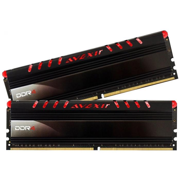Hình ảnh RAM Avexir Core Series 8GB(1x8GB) DDR3 Bus 1600Mhz -1CW (Tản nhiệt - Led xanh)