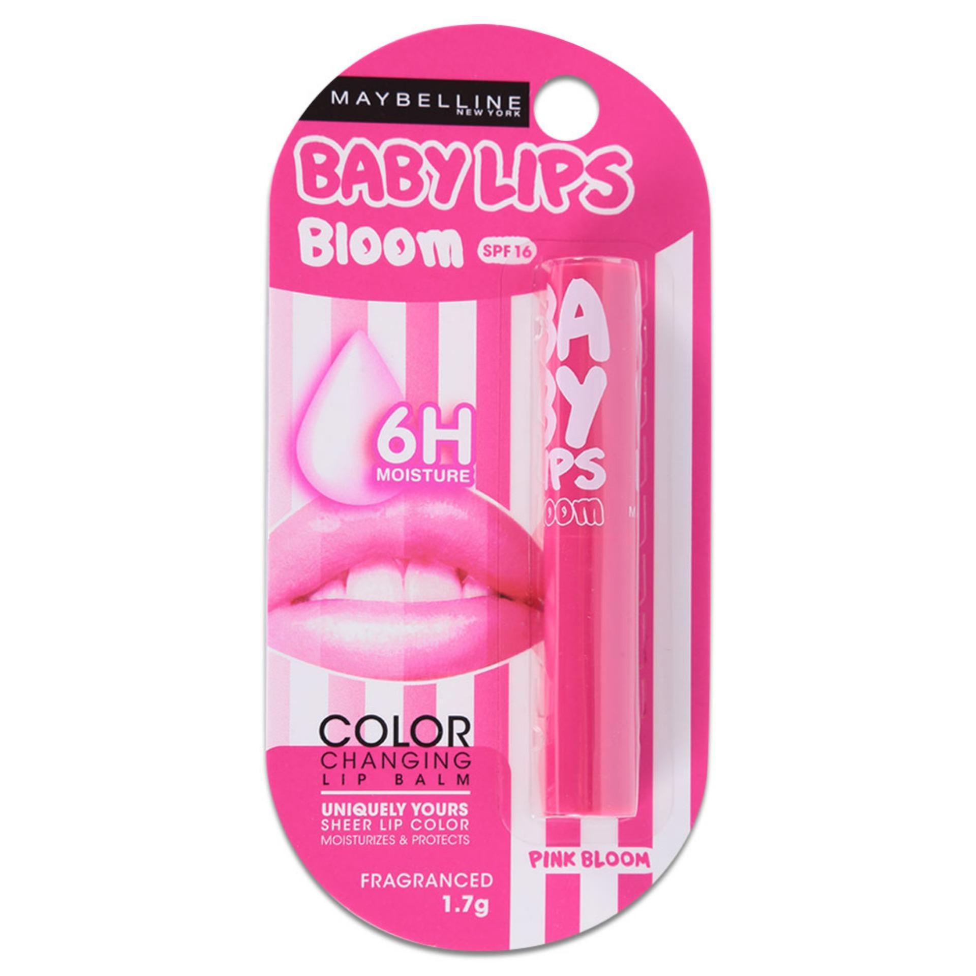 Son Dưỡng Ẩm Chuyển Màu Maybelline Pink Bloom 1.7G