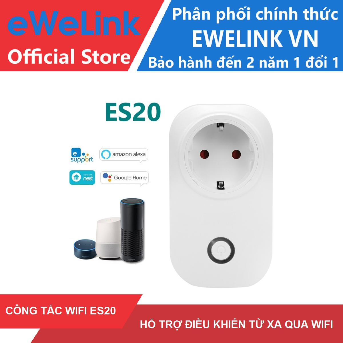 Công Tắc WiFi Thông Minh eWeLink ES20