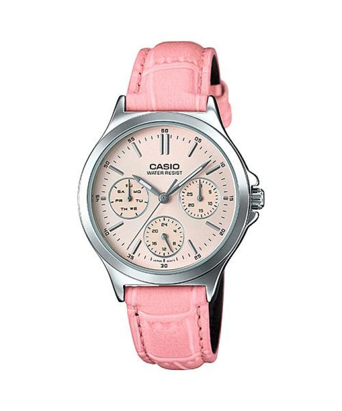 Đồng hồ nữ dây da Casio Anh Khuê LTP-V300L-4AUDF
