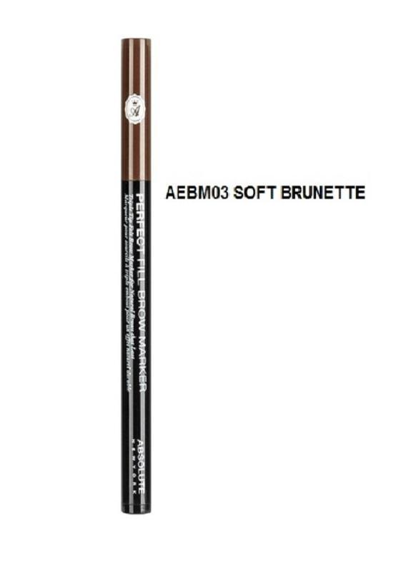 Bút dạ kẻ mày Perfect Fill Brow Marker AEBM03 Soft Brunette nhập khẩu