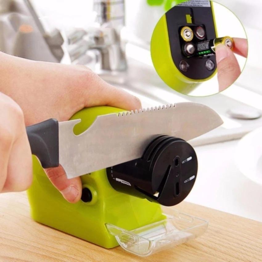 Hình ảnh Máy mài dao kéo mini đa năng tự động dùng pin