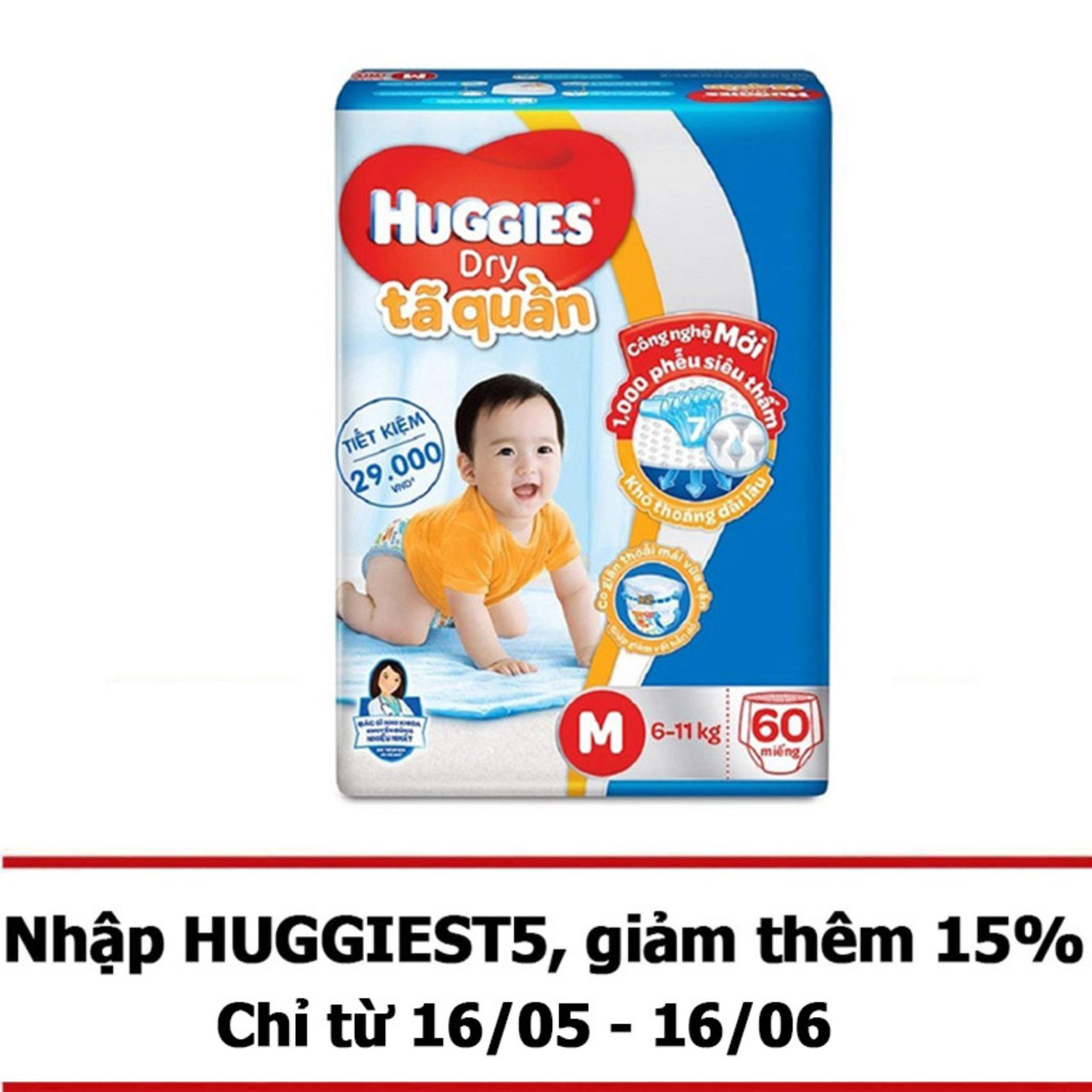 Tã quần Huggies Big Jumbo M60