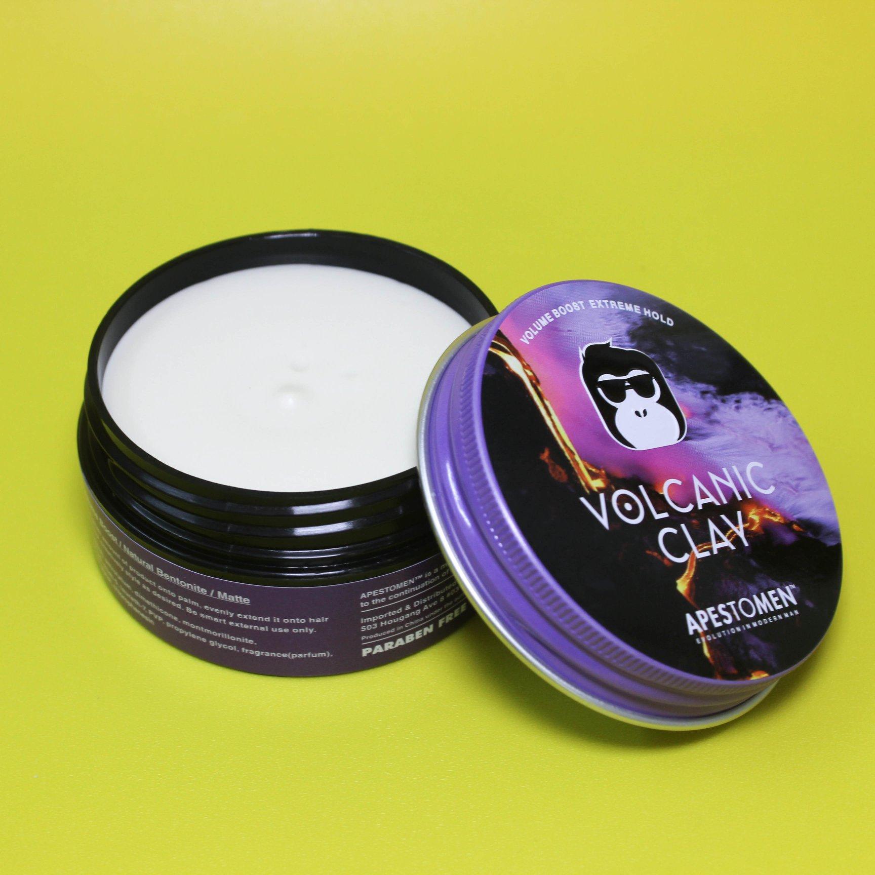 Sáp vuốt tóc Volcanic Clay Apestomen 2018 version 3 bản nắp nhôm