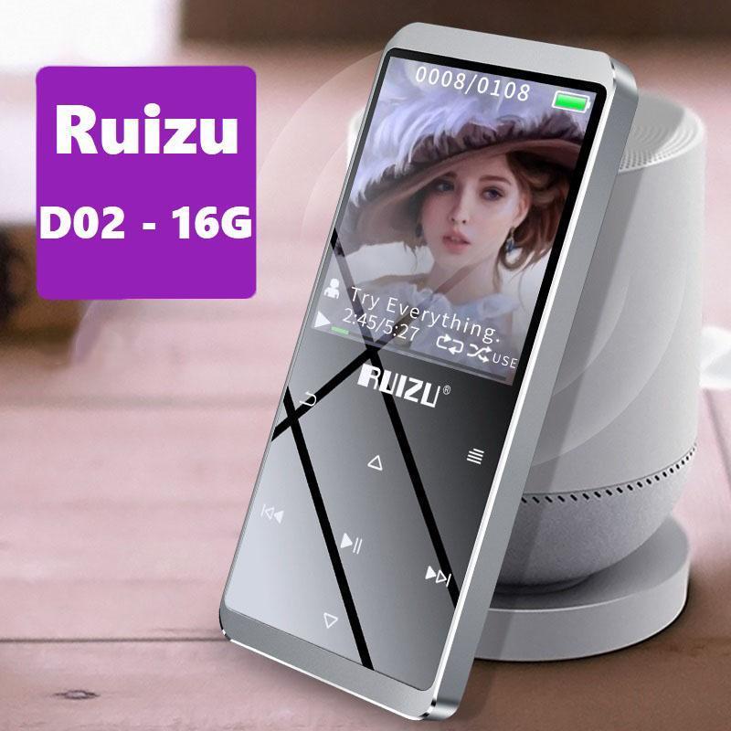Máy nghe nhạc MP3 Lossless Ruizu D02 - 16G (Phiên bản không Bluetooth)