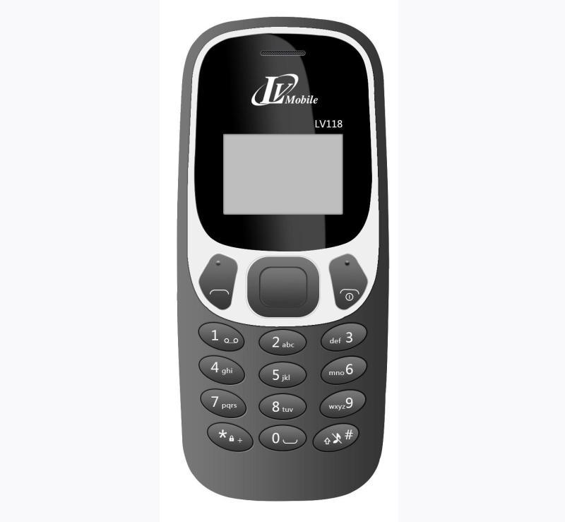 [ SHOCK ] Điện Thoại LV118 1 SIM Phím mềm bấm êm tay - Hàng Nhập Khẩu - Bảo Hành 12 Tháng