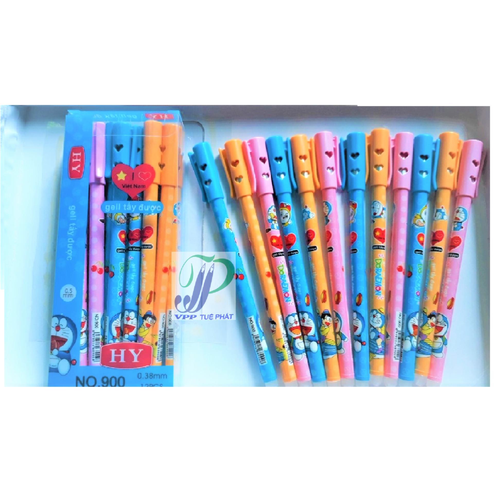 Mua Hộp 12 cây bút bi xóa được (màu tím)