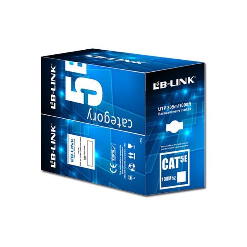 Bảng giá Cuộn dây cáp mạng LB-LINK Cat5e UTP 305m ( màu xanh, màu cam ) giao màu ngẫu nhiên Phong Vũ