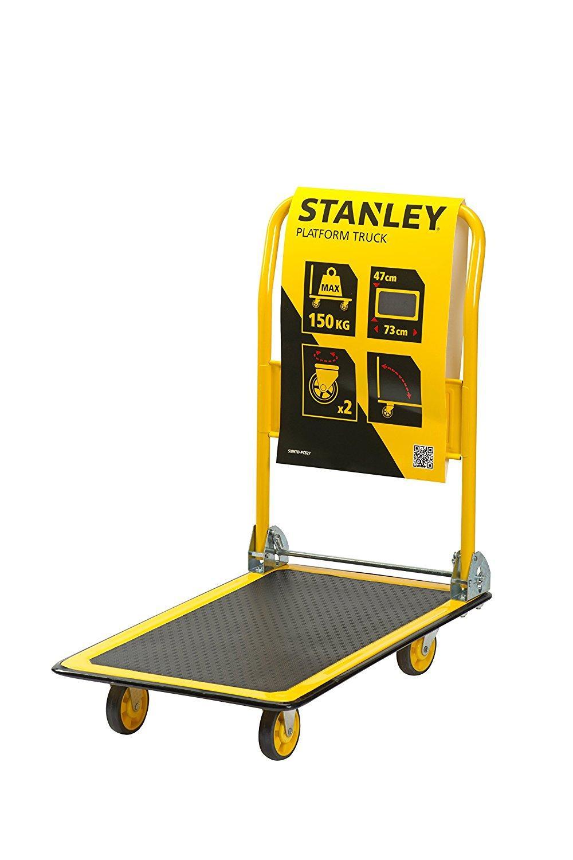 Xe đẩy tay 4 bánh cao cấp (có thể gấp gọn) Stanley PC527