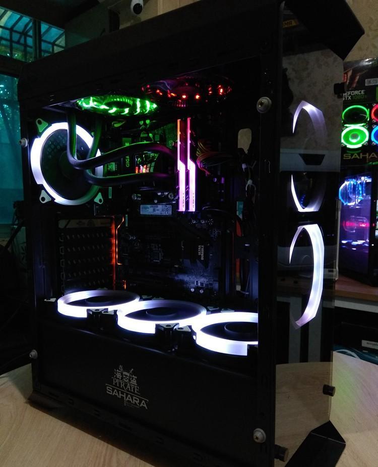 Hình ảnh Thùng CPU chơi Game (Core i5 4570, Ram 8GB, HDD 1TB, VGA GTX1050 2GB ) KH24GMC545 + Quà Tặng