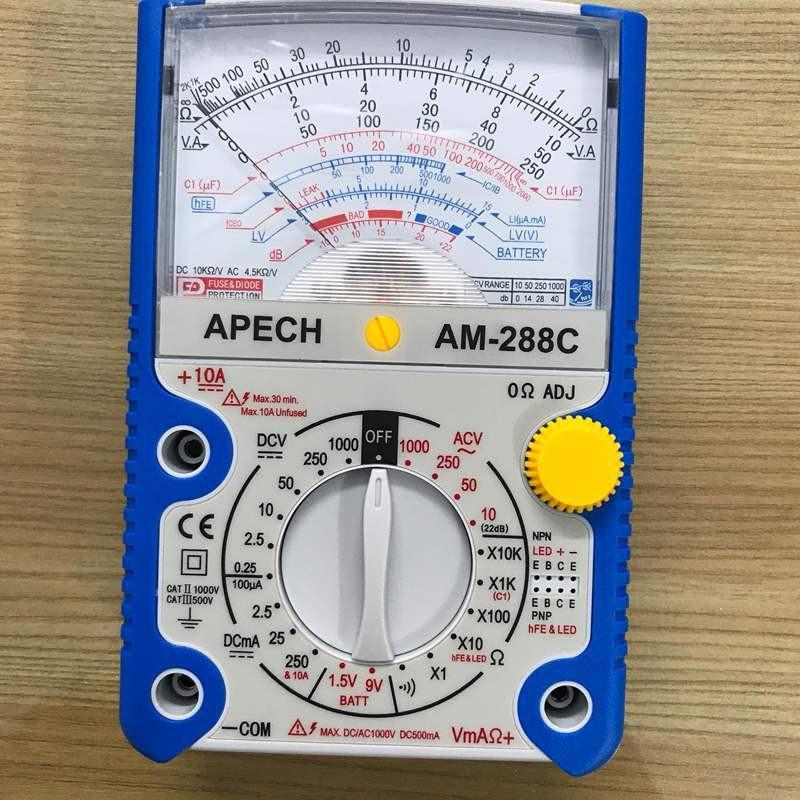 Đồng hồ đo vạn năng Apech AM-288C (Hàng chuẩn Đài Loan)