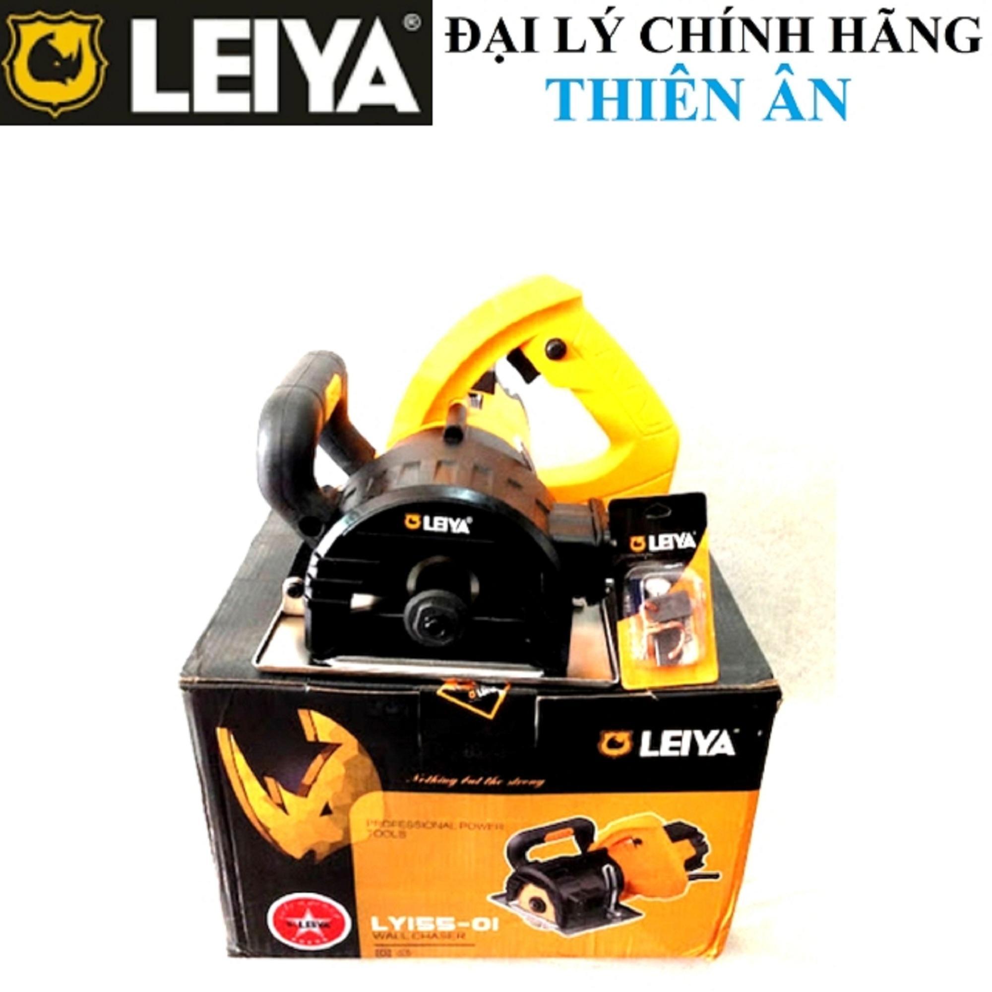 Máy cắt tường đi ống điện/nước LEIYA LY155-01 5 lưỡi cắt (100-125mm)