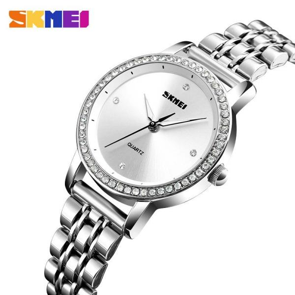 Đồng hồ nữ Skmei 1311 Dây thép không rỉ mẫu mới nhất trong năm của hãng DH0805 bán chạy