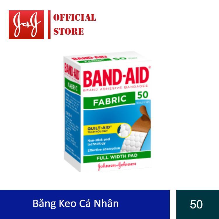 Băng keo cá nhân Band-Aid 50 miếng nhập khẩu
