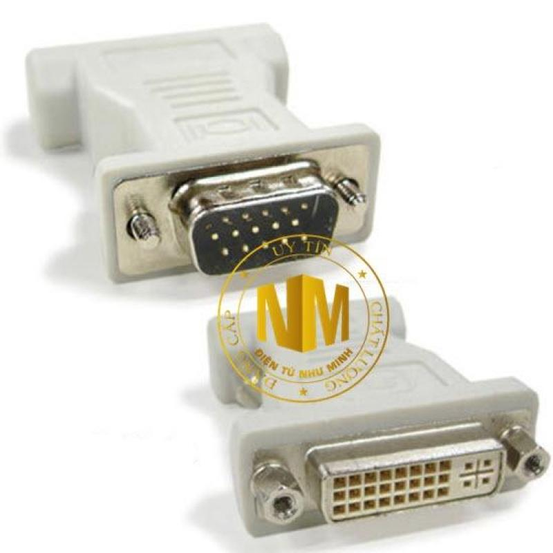 Bảng giá Jack chuyển DVI Cái ra VGA Đực ( 1 Cái ) Phong Vũ