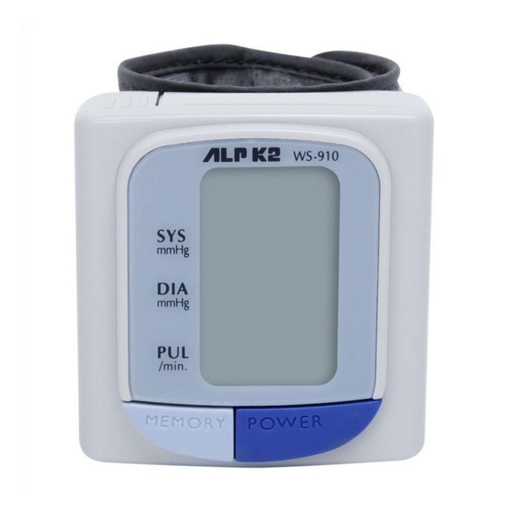 Nơi bán Máy đo huyết áp cổ tay tự động ALPK2 WS 910 (Trắng)