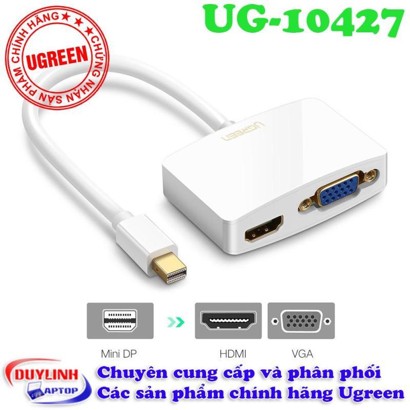 Bảng giá Cáp Mini Displayport sang HDMI và VGA Ugreen Phong Vũ