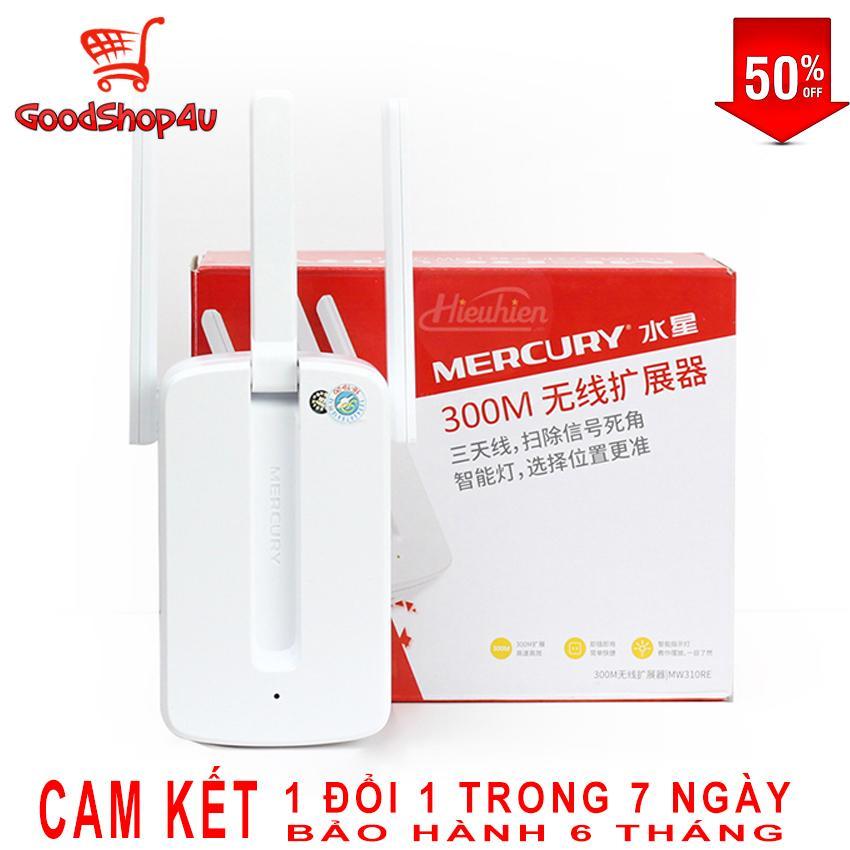 Giảm Giá Quá Đã Phải Mua Ngay [XẢ KHO] Bộ Kích Sóng Wifi 3 Râu Mercury (Wireless 300Mbps) Cực Mạnh, Kích Sóng Wifi, Bộ Kích Wifi [GoodShop4u].