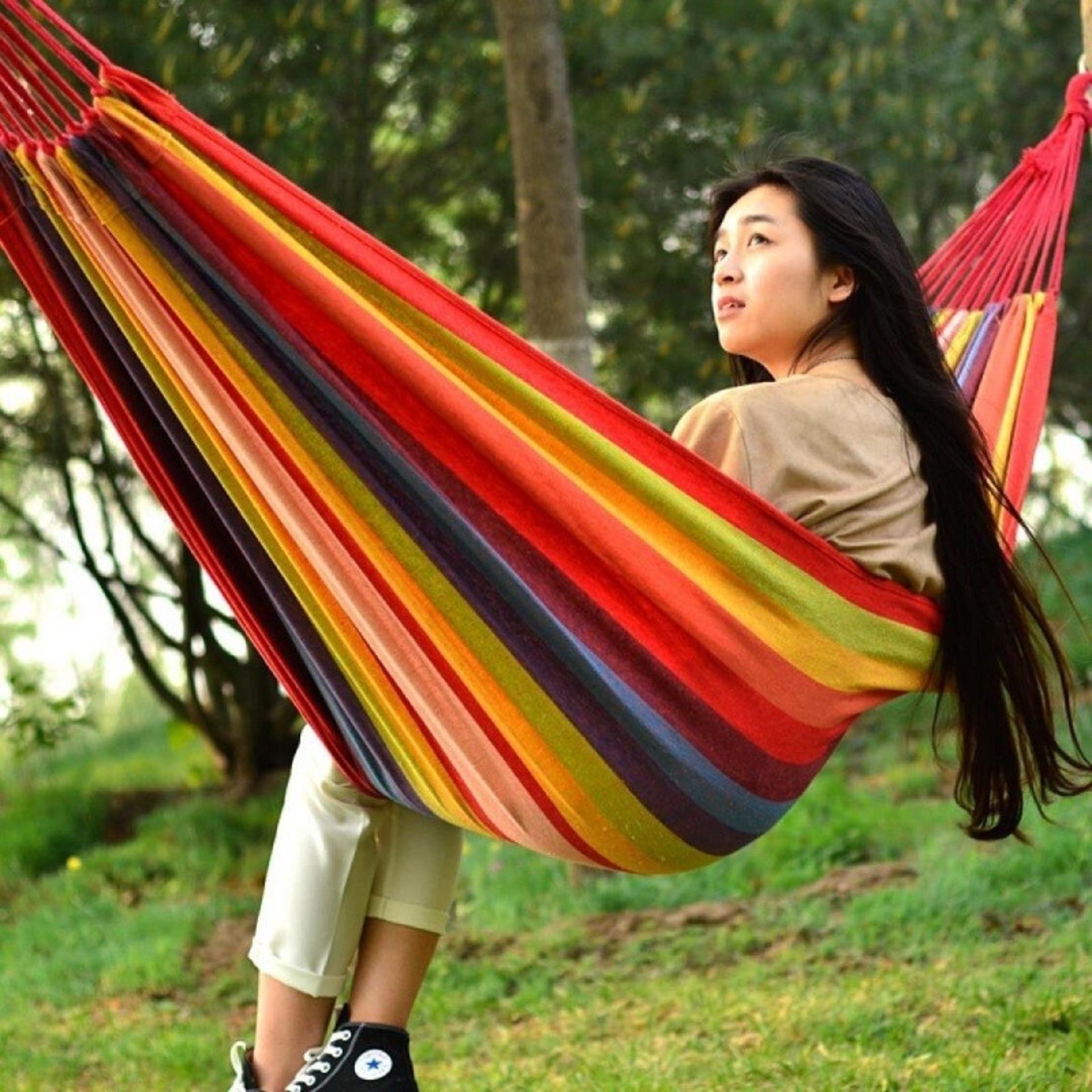 Vong Luoi Cao Cap, VÕNG DÃ NGOẠI ĐA NĂNG tiện lợi, gọn nhẹ, dễ dàng mang theo khi đi chơi xa, Tặng phiếu bảo hành 1 năm Toàn quốc