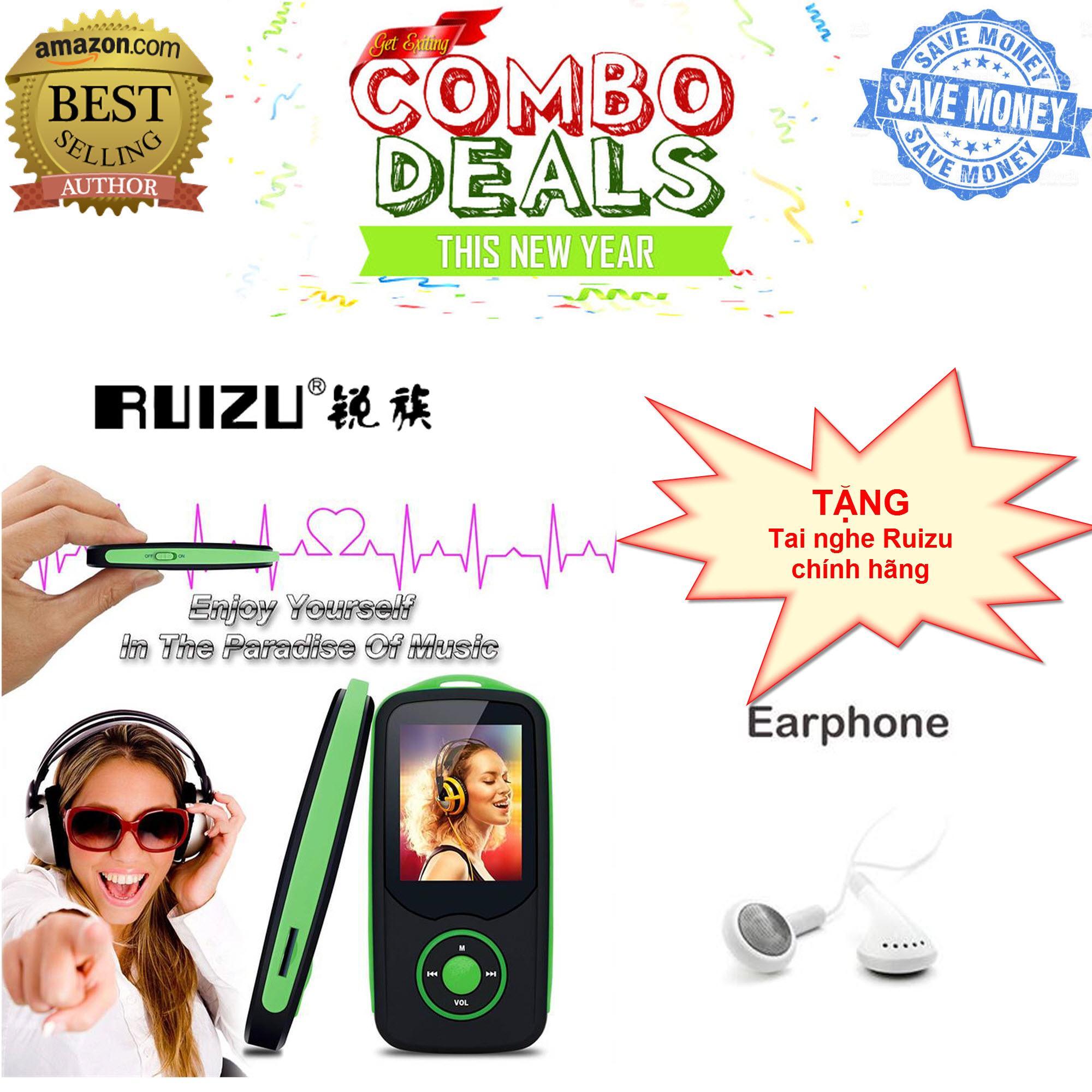 Máy nghe nhạc Lossless Bluetooth Ruizu X06 [Công ty phân phối - Bảo hành 6 tháng đổi mới]