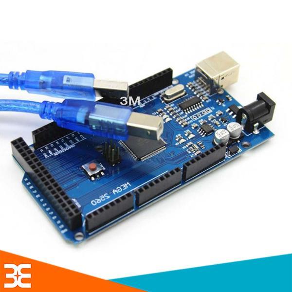 Bảng giá [Tp.HCM] Kit Arduino Mega 2560 R3- CH340 Thế Hệ 3 ( Tặng Cáp Kết Nối )