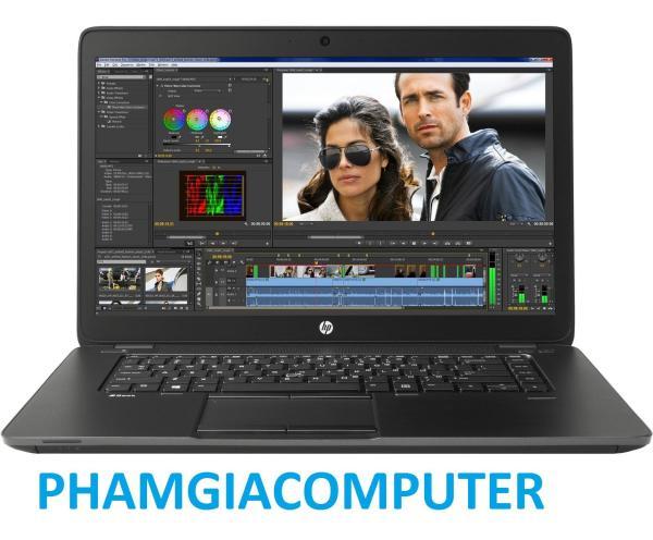 Bảng giá Máy trạm Laptop chuyên đồ hoạ Game nặng HP Zbook 15 Core i7 4700MQ (8cpus) Ram 16G SSD 250G VGA rời Quadro K1100M - Tặng Balo, chuột không dây-Hàng nhập khẩu Phong Vũ