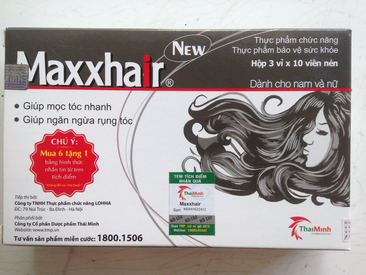 Maxxhair ngăn ngừa rụng tóc