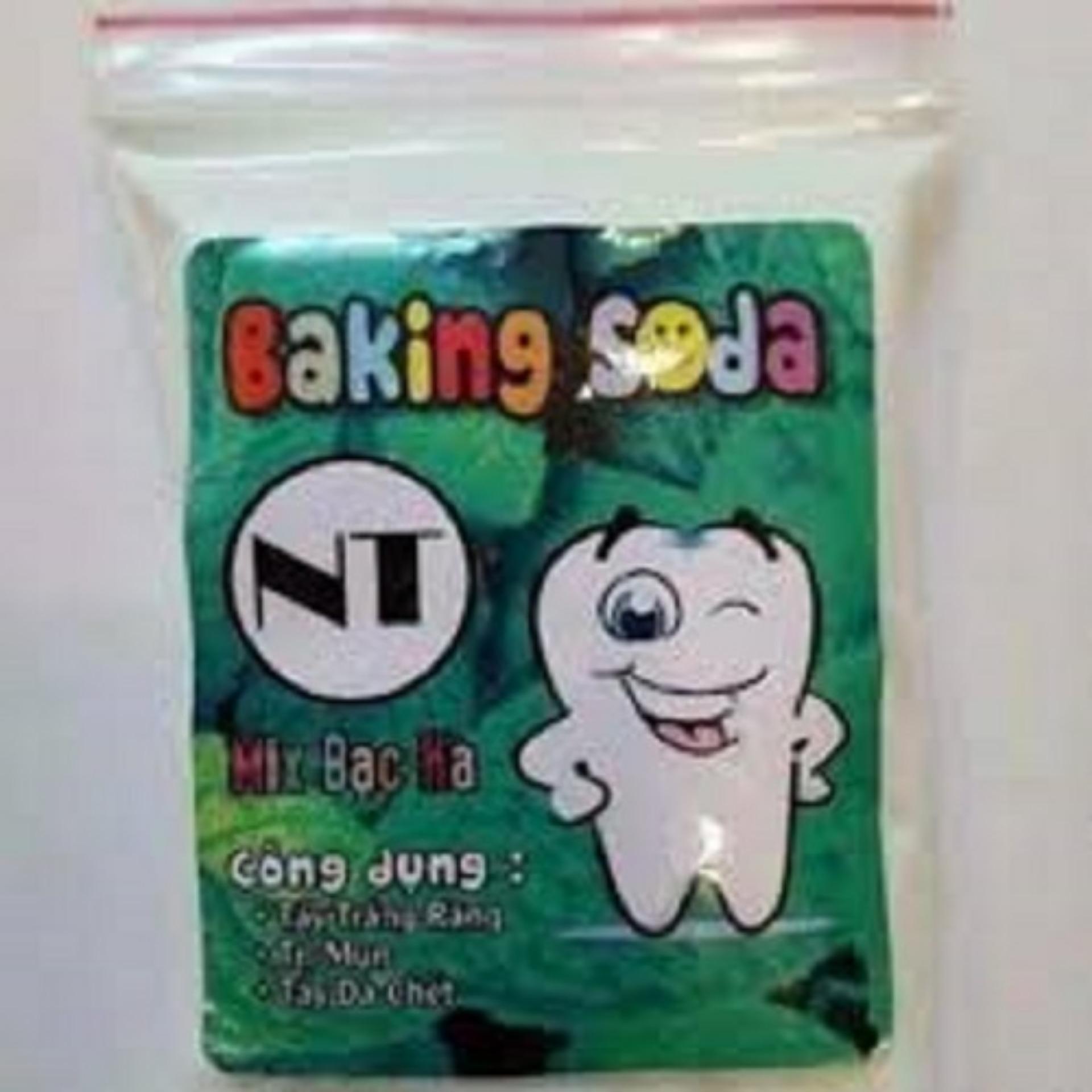 Làm trắng răng nhanh với banking soda Nt 50g nhập khẩu