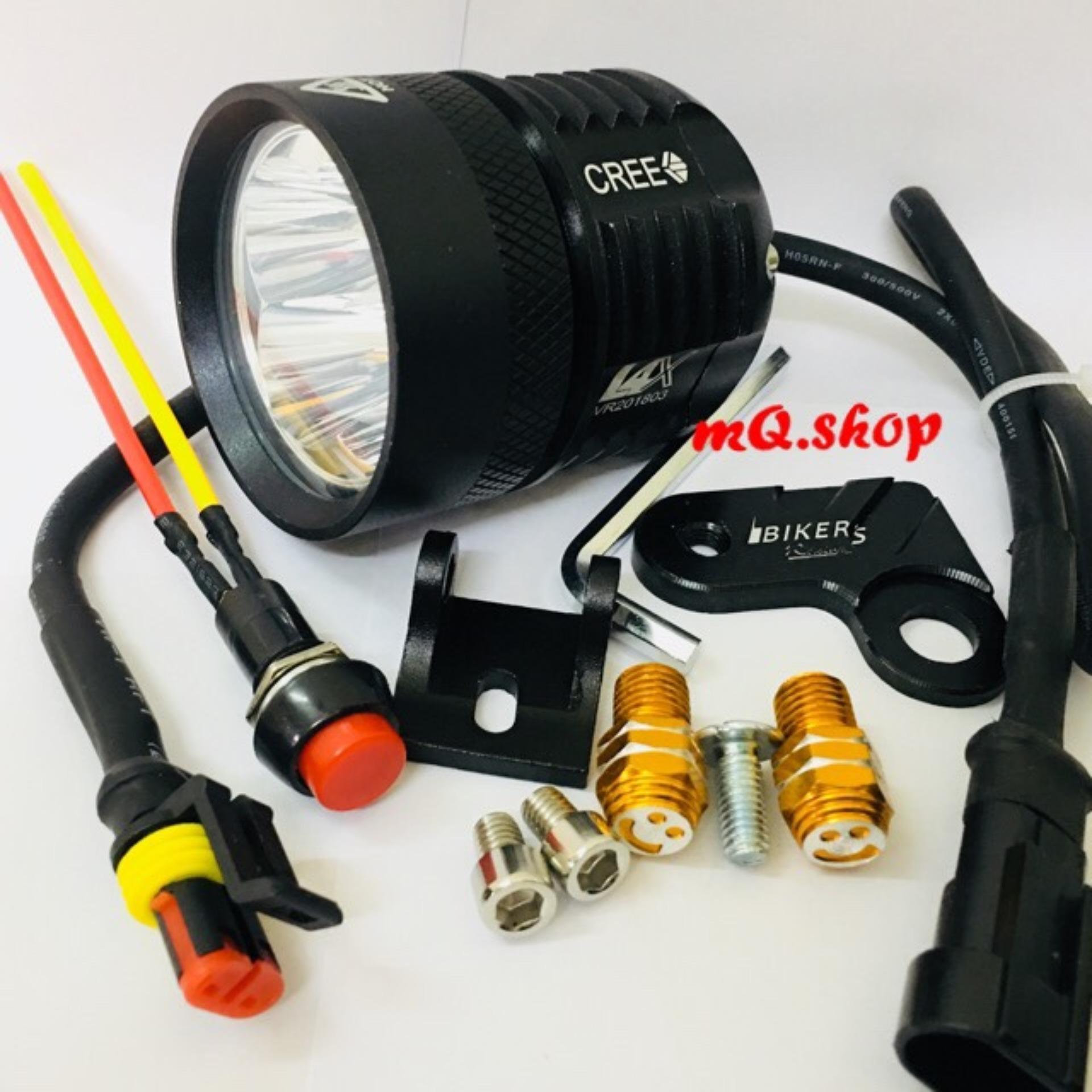 Đèn pha Led trợ sáng L4X (Full phụ kiện)