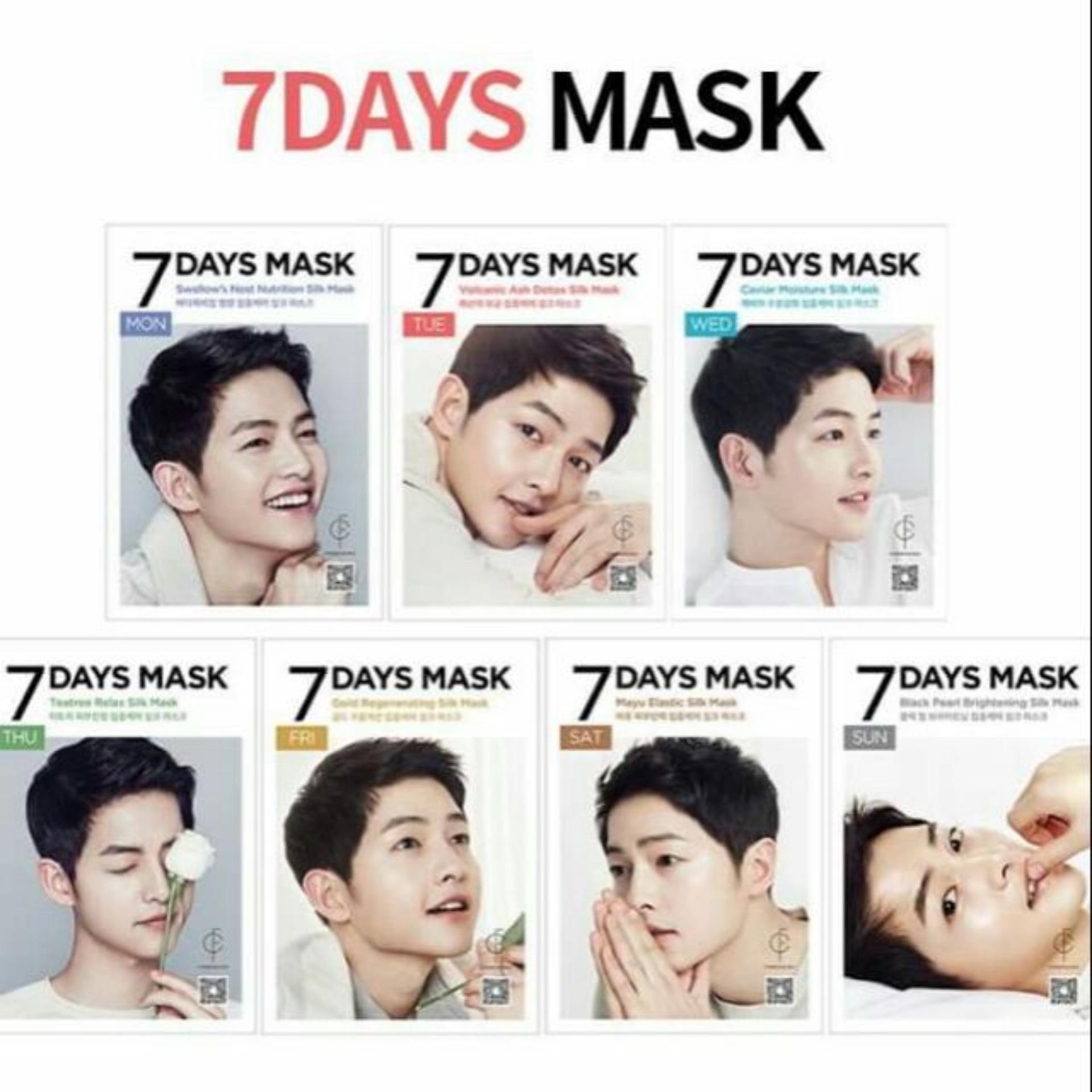 Mặt nạ dưỡng da 7 ngày Forencos 7 Days mask Song Joong Ki