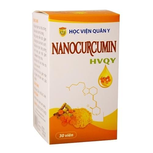 Viên nang dạ dày Nano Curcumin Học Viện Quân Y (hộp 30 viên) tốt nhất
