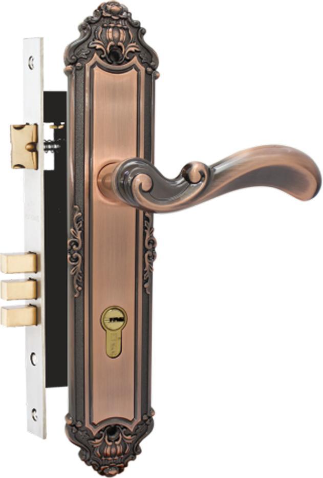 Khóa cửa gỗ bằng hợp kim Huy Hoàng EX 5829