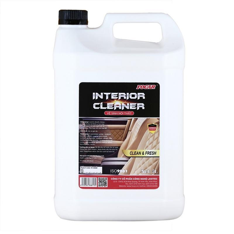 Dung dịch vệ sinh nội thất Focar Interior Cleaner (can)