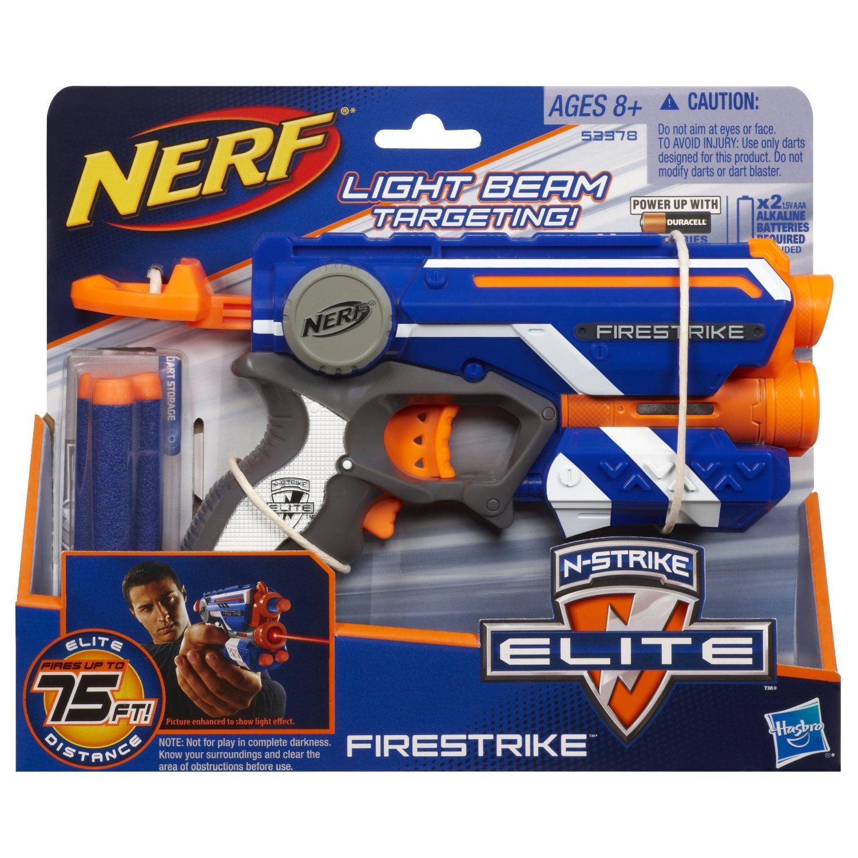 Hình ảnh Đồ chơi trẻ em vận động Nerf Elite Firestrike + tặng 10 thanh xốp