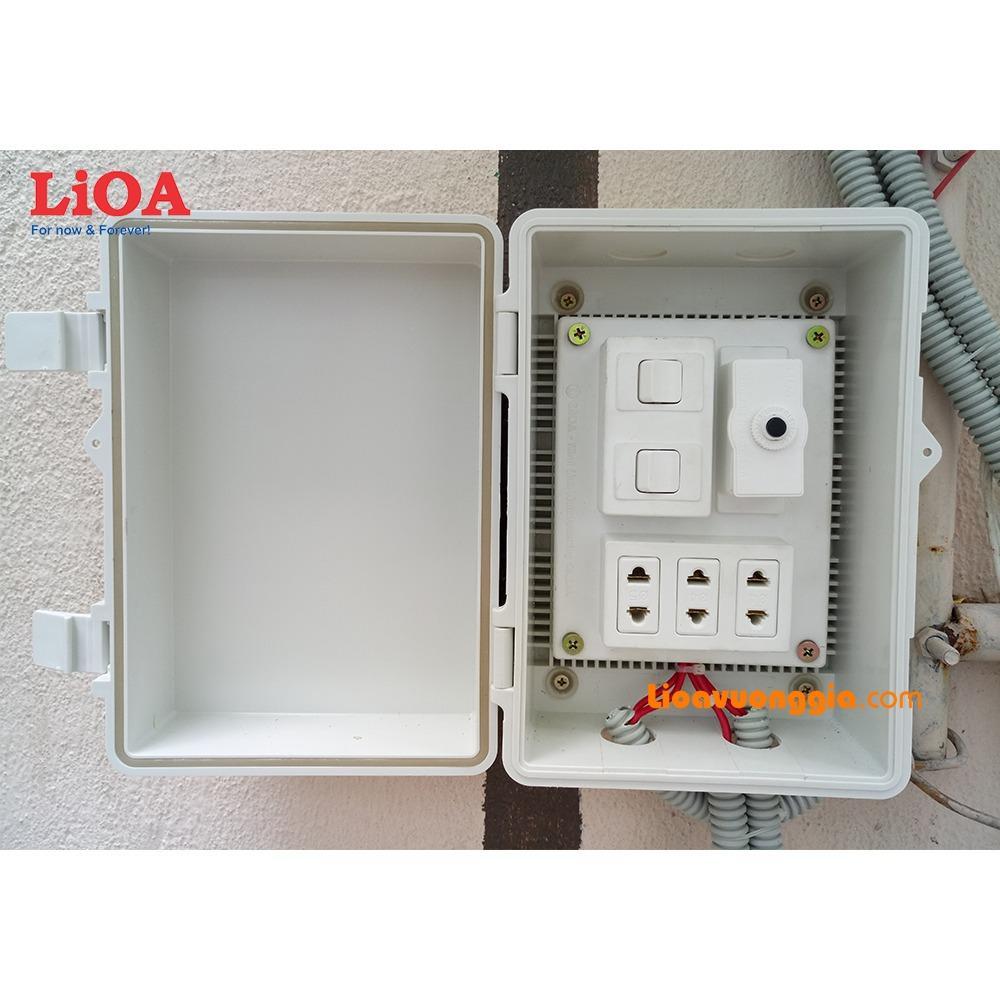Chiết Khấu Combo Tủ Điện Trong Nha Va Ngoai Trời Lioa Lvjlcb2C Lioa Trong Hồ Chí Minh