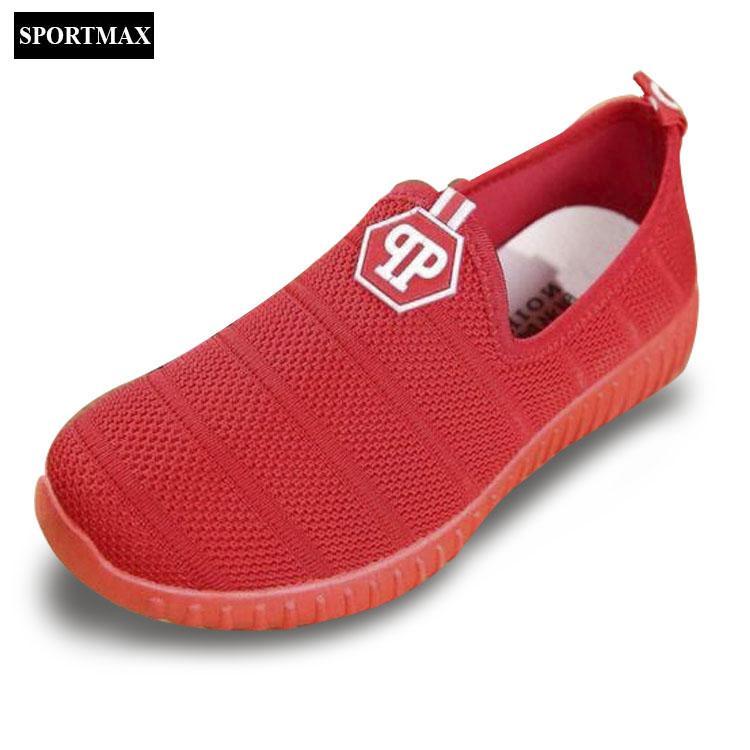 Giá Bán Giay Sneaker Nữ Sportmax Swg6601R Đỏ Mới