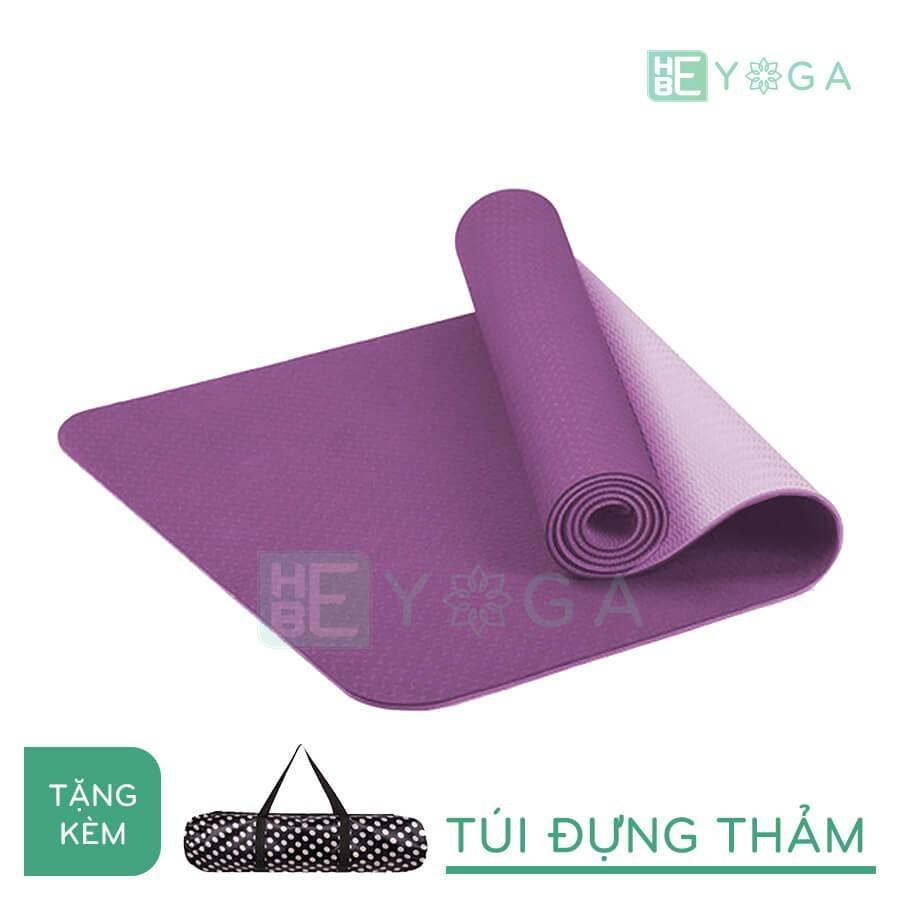 Lazada Khuyến Mãi Khi Mua Thảm Tập Yoga TPE Eco-Friendly 8mm 2 Lớp Cao Cấp Kèm Túi